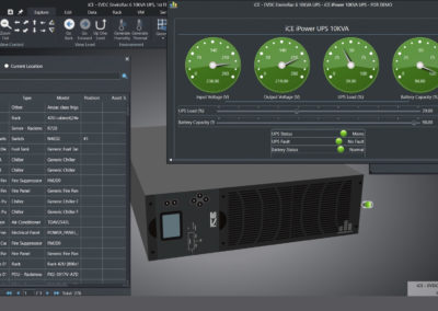 iCE365 UPS Device Dashboard